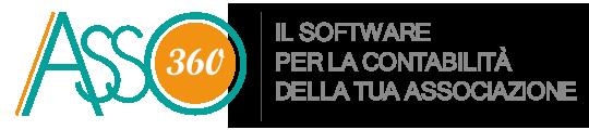 Asso360 – Software Contabilità Associazione Retina Logo