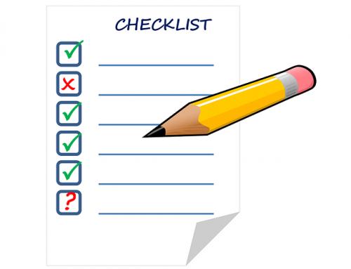 Check List per scrivere lo Statuto di una Asd.