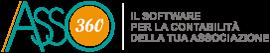 Asso360 – Software Contabilità Associazione Logo