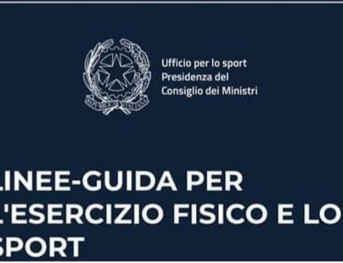 LO SPORT RIPARTE IN SICUREZZA: LA GUIDA DELL'UFFICIO DELLO SPORT