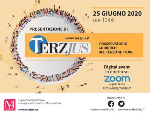 Nasce Terzjus, uno strumento per accompagnare la riforma del terzo settore